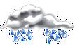 Občasný déšť