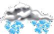 Občasné sněžení